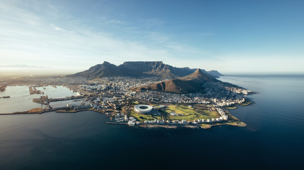 Cape Town's stunning aerial views   © Jacob Lund/Shutterstock