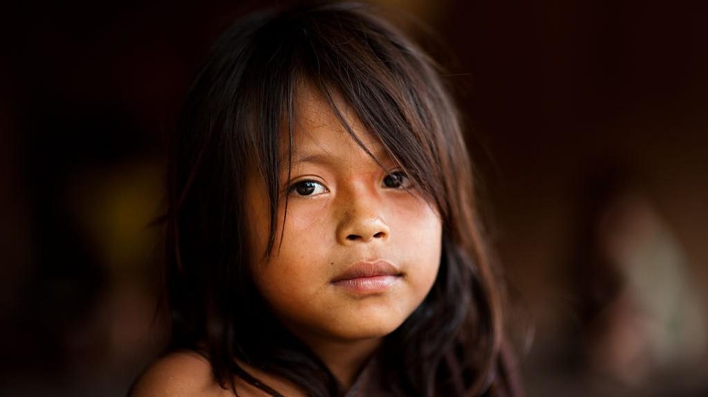 Young Ashaninka girl in an Apiwtxa village, Acre state, Brazil  ©Pedro França/MinC