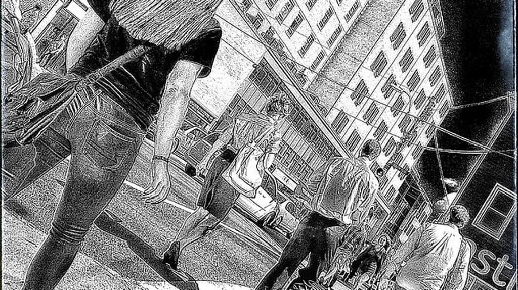 Graphic Novel   © D. Mark Laing/Flickr