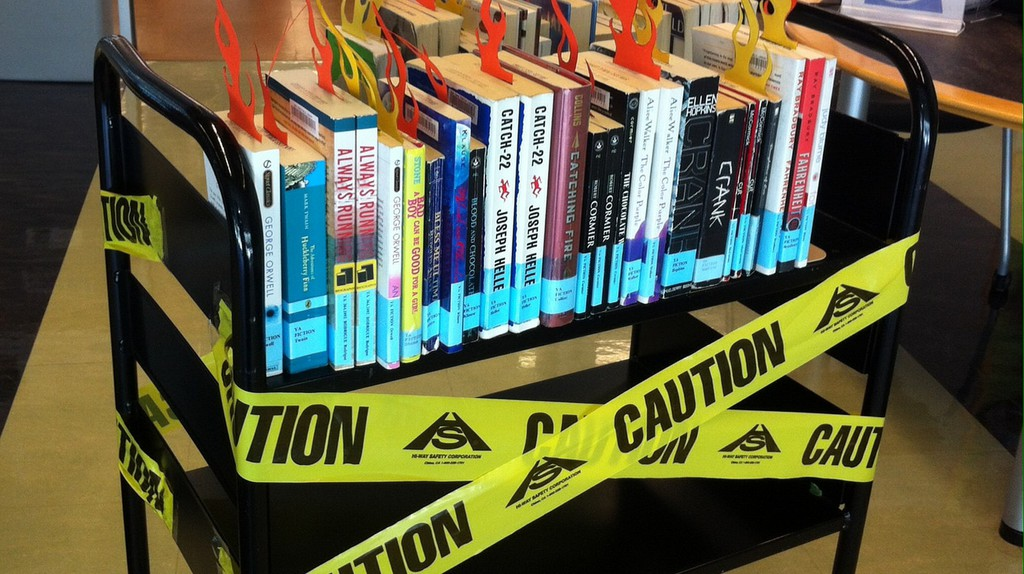 Banned Books 2017 | © San José Public Library/Flickr
