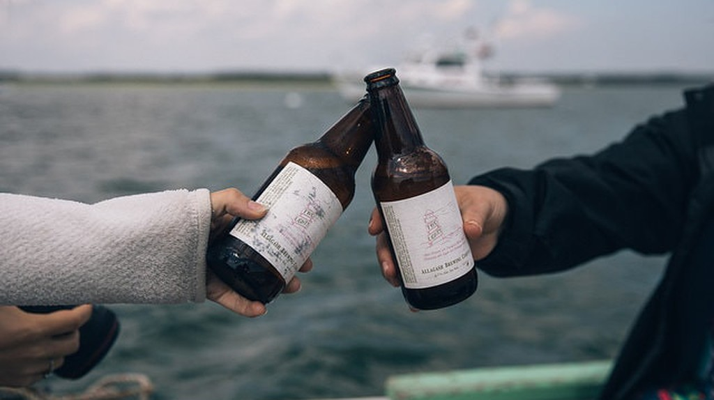 Maine Beer    © Allagash Brewing/Flickr