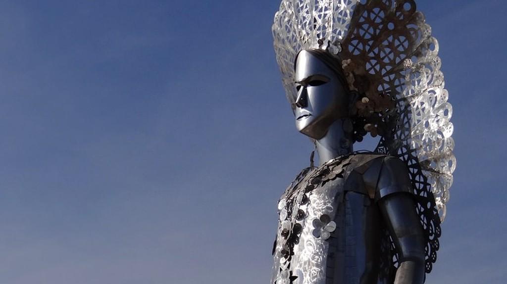 Statue of La Tehuana   © Adam Jones / Flickr