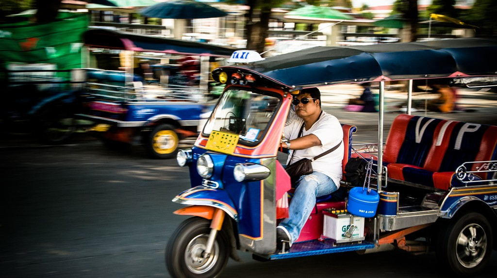 Tuk-tuk driver | ©Didier Baertschiger/Flickr