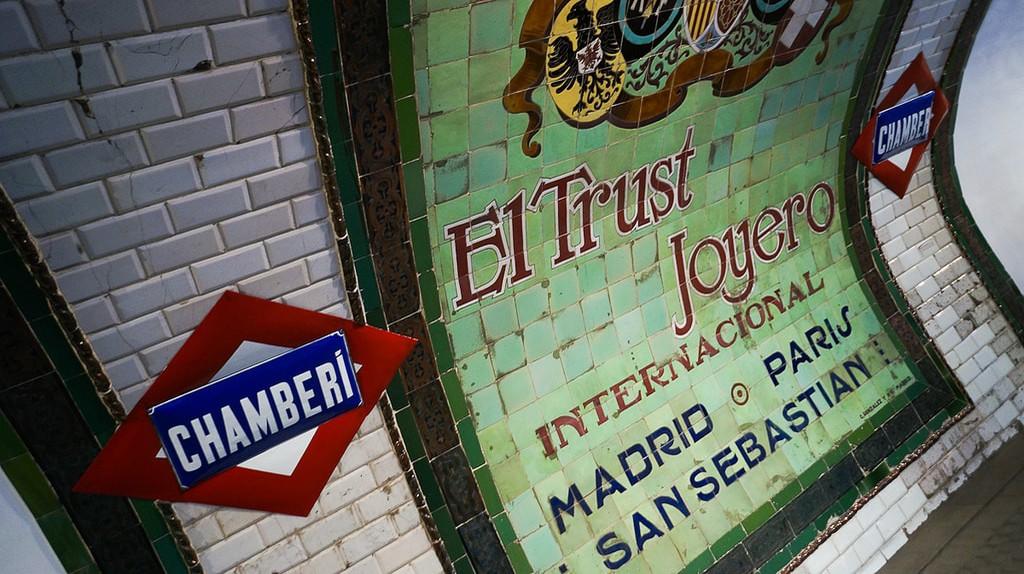 Chamberí Metro Station |© Antonio Tajuelo / Flickr