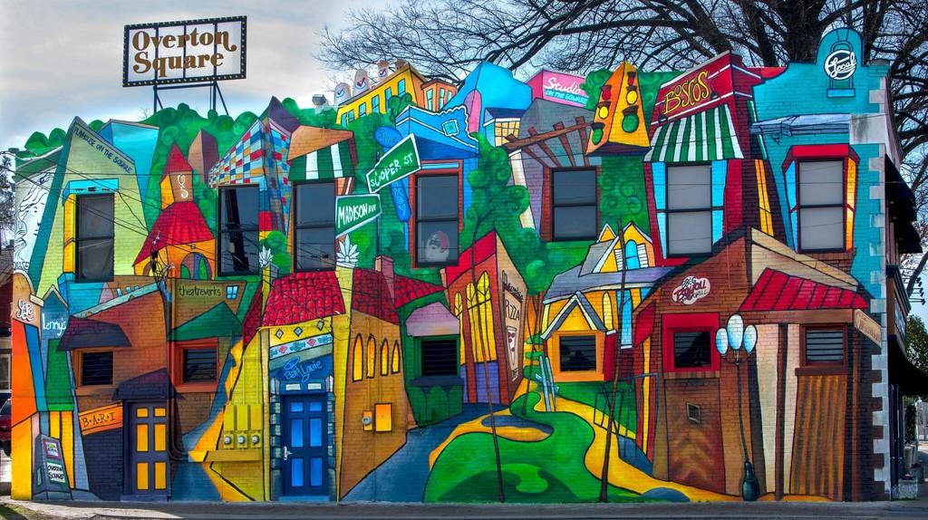Overton Square - Memphis, TN | © David Lynch