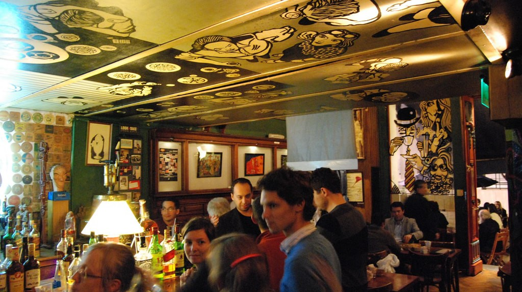 Themed bars in Buenos Aires   © Barbaro Bar Bar Notable / Flickr