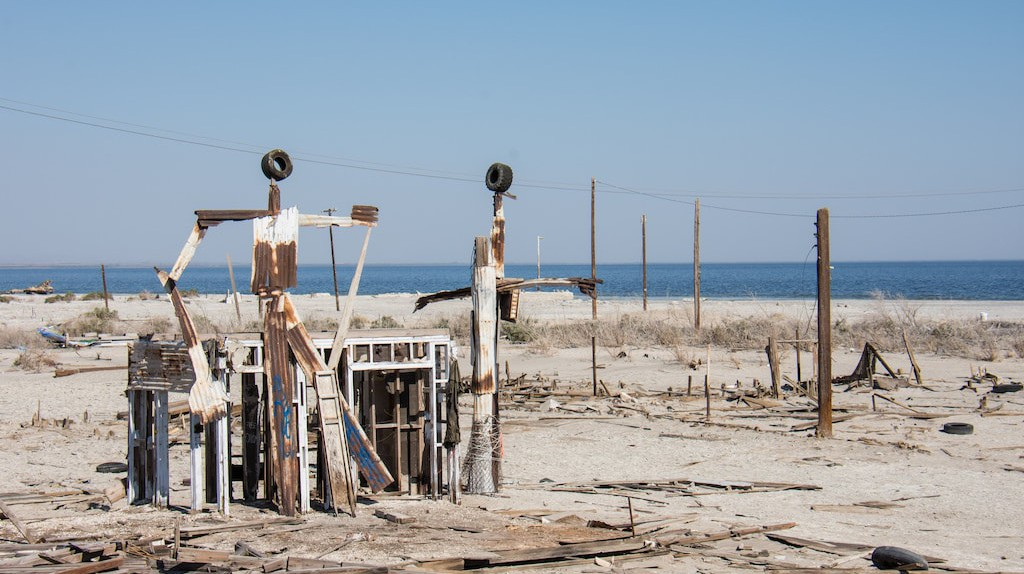 Bombay Beach and the Salton Sea | © m01229 / Flickr