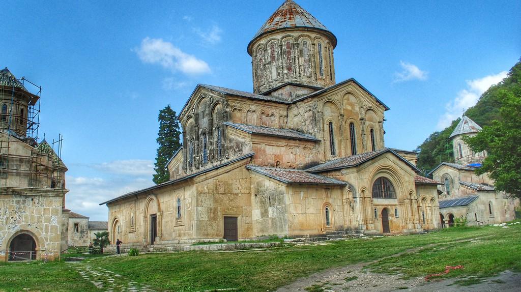 The complex of Gelati Monastery in Kutaisi