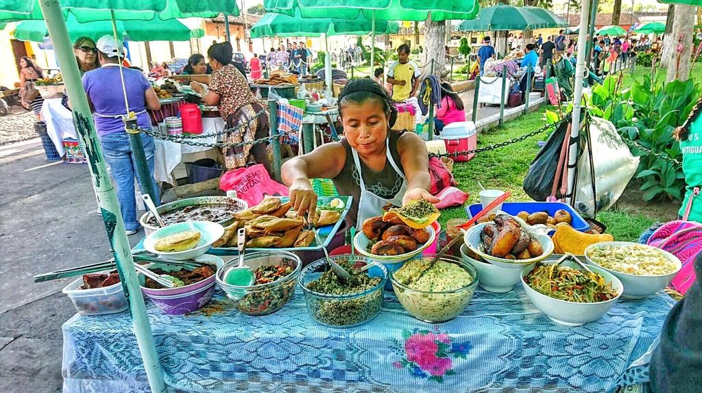 Antigua Guatemala street food   © Selene Nelson
