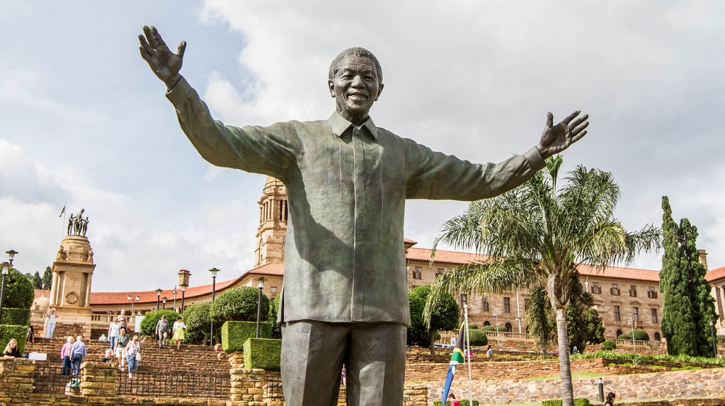 Statue of Nelson Mandela at the Union Buildings, Pretoria | © Willem van Valkenburg / Flickr