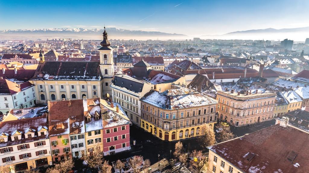 Overview of Sibiu, Transylvania, Romania | © Calin Stan / Shutterstock