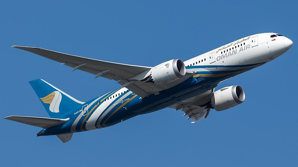 OmanAir © Tjdarmstadt/Wikipedia Commons