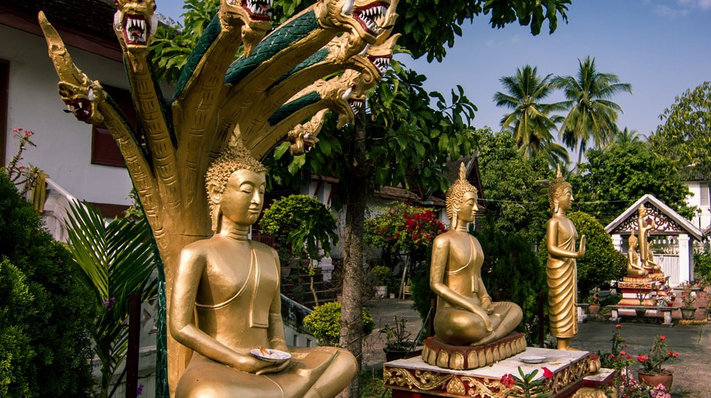Temple in Luang Prabang | © Guilhem de Coomen/Flickr