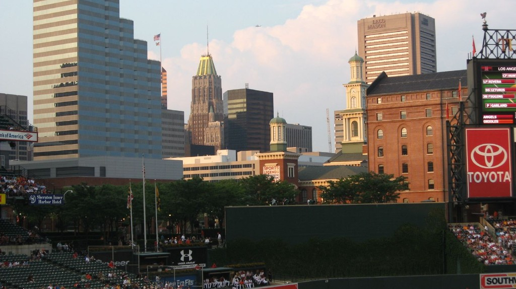 View of Baltimore, Maryland from Oriole Park   © Ken Lund/Flickr