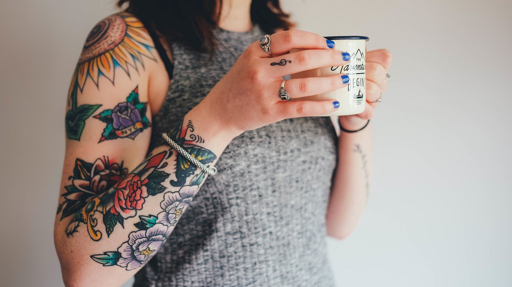 Striking colourful tattoos   © ThoroughlyReviewed / www.thoroughlyreviewed.com