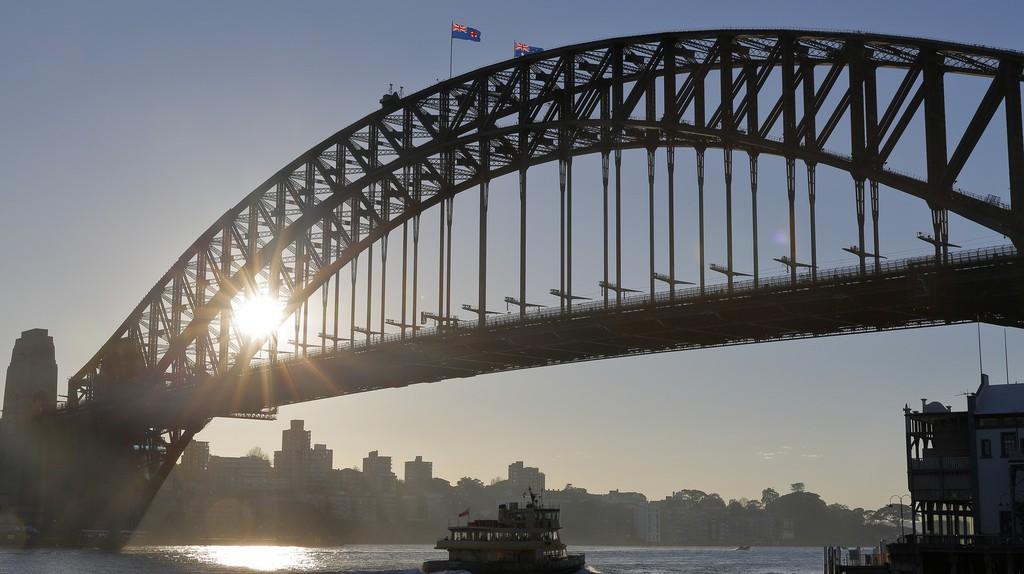 Ferry and  Bridge   © Ed Dunens/Flickr