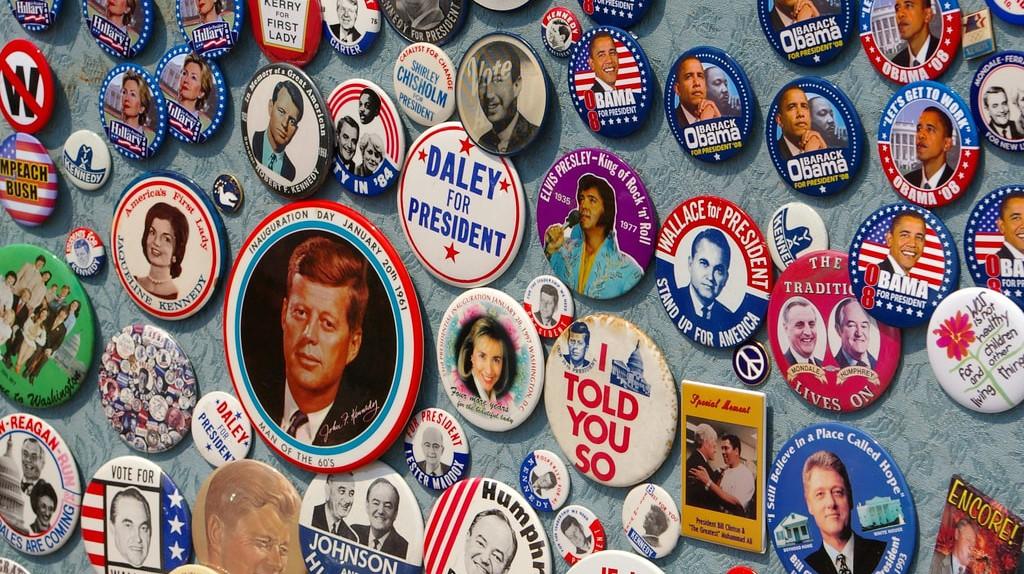 Campaign Buttons © L. Allen Brewer/Flickr
