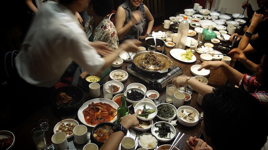 Korean Food   © Yosomono/Flickr
