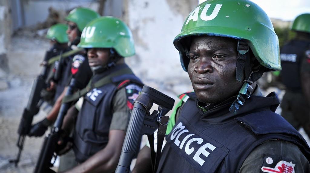 Nigerian police | © AMISOM Public Information/Flickr
