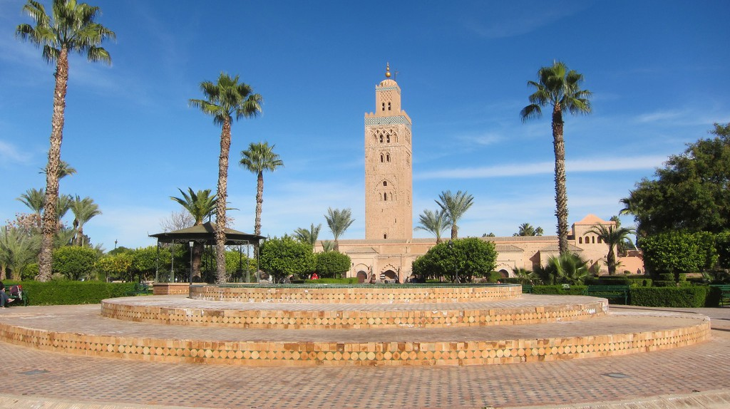 Serenity near Koutoubia Mosque | © Phil Wiffen / Flickr
