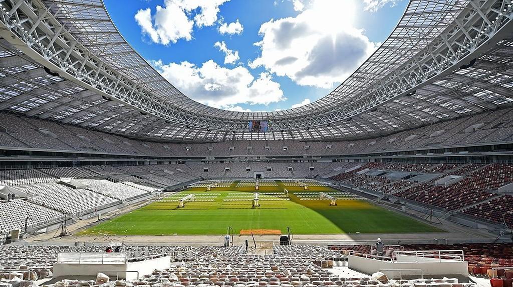 Reconstruction of Luzhniki Stadium   © Stroycomplex/Wikimedia Commons