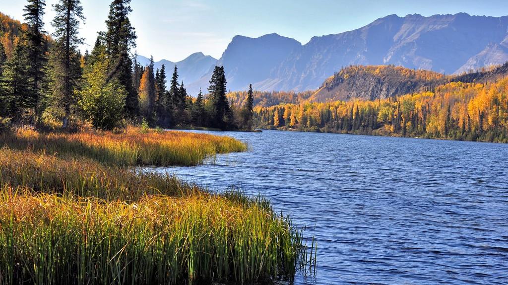 Bonnie Lake, Chickaloon, Alaska |  © Cecil Sanders/Flickr