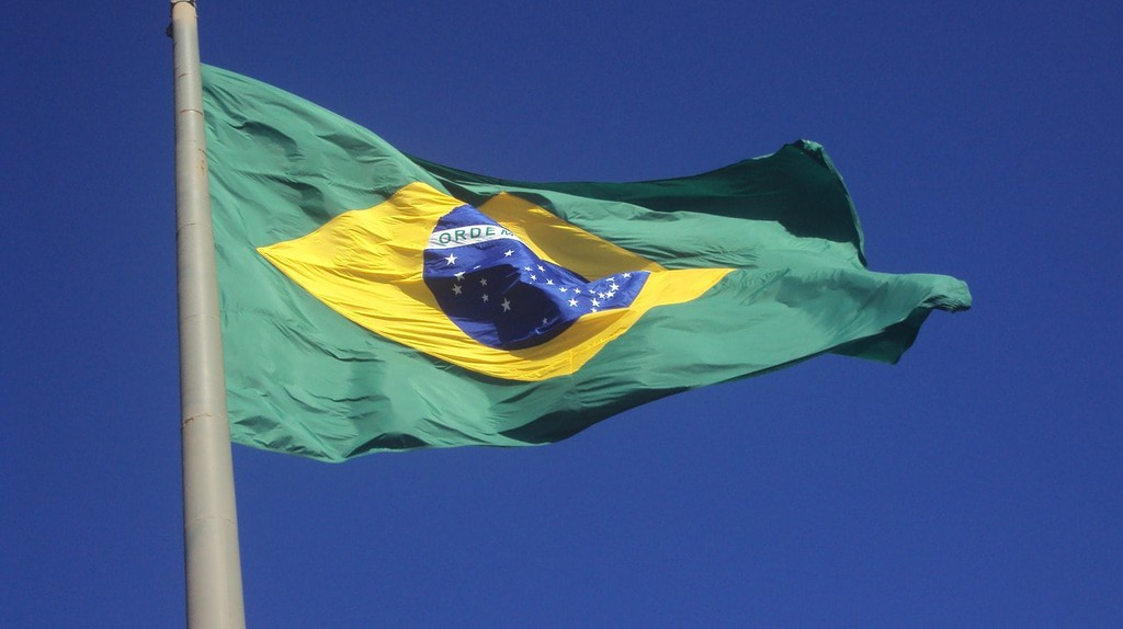 Brazilian flag   © ilanwet / Pixabay
