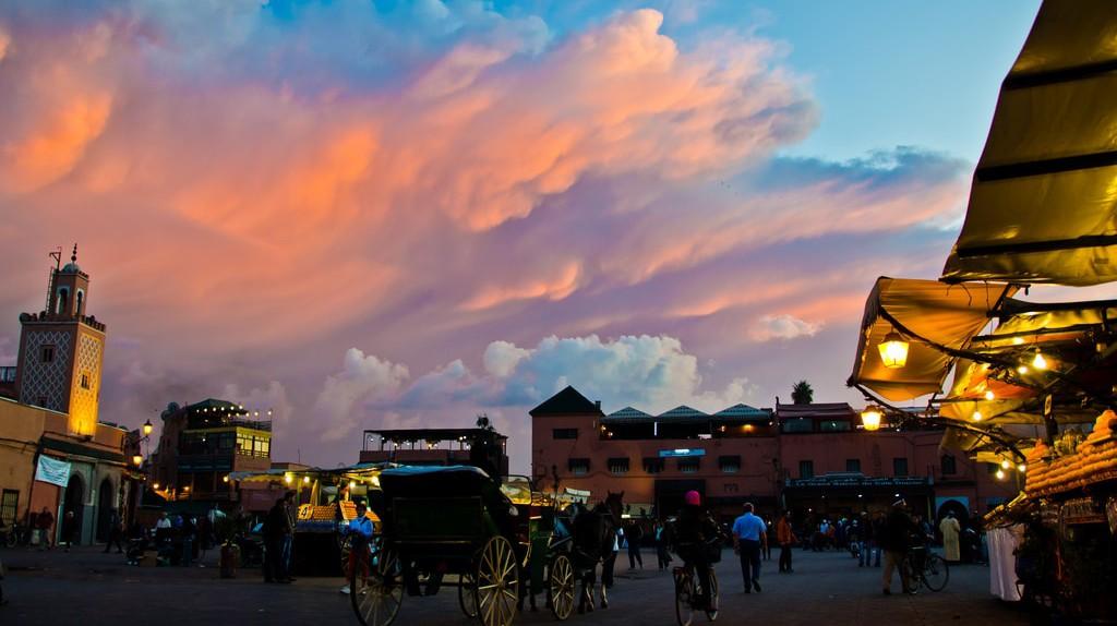 Marrakech in the evening | ©  Michael Camilleri / Flickr