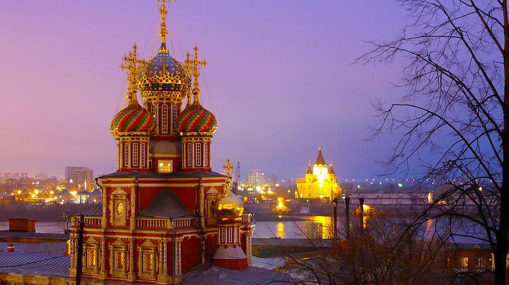 Church of the Nativity of the Blessed Virgin Mary in Nizhny Novgorod