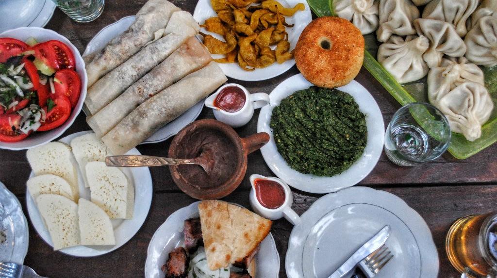 Georgian cuisine    © Baia Dzagnidze
