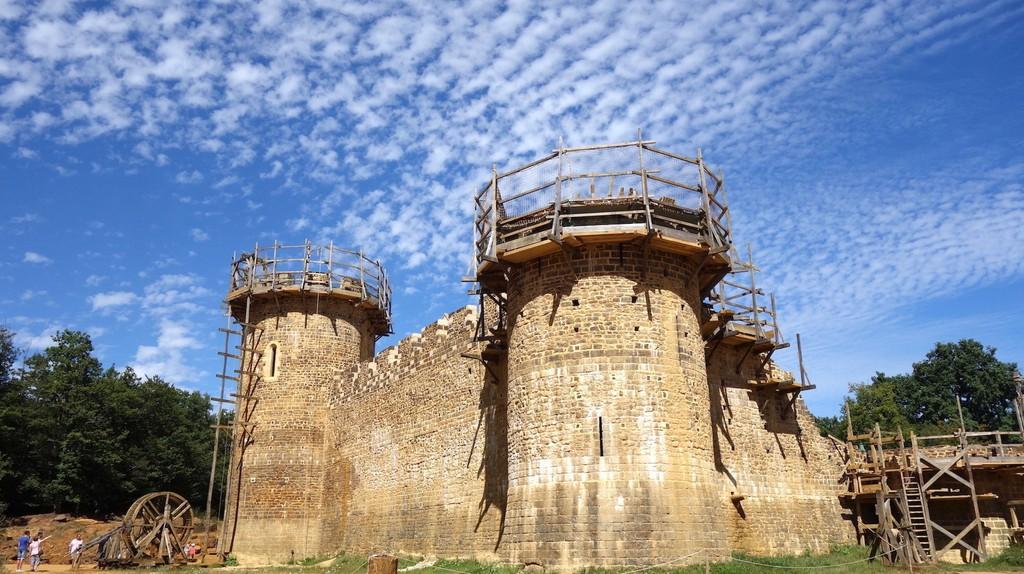 Guédelon Castle | © Sylvia Edwards Davis