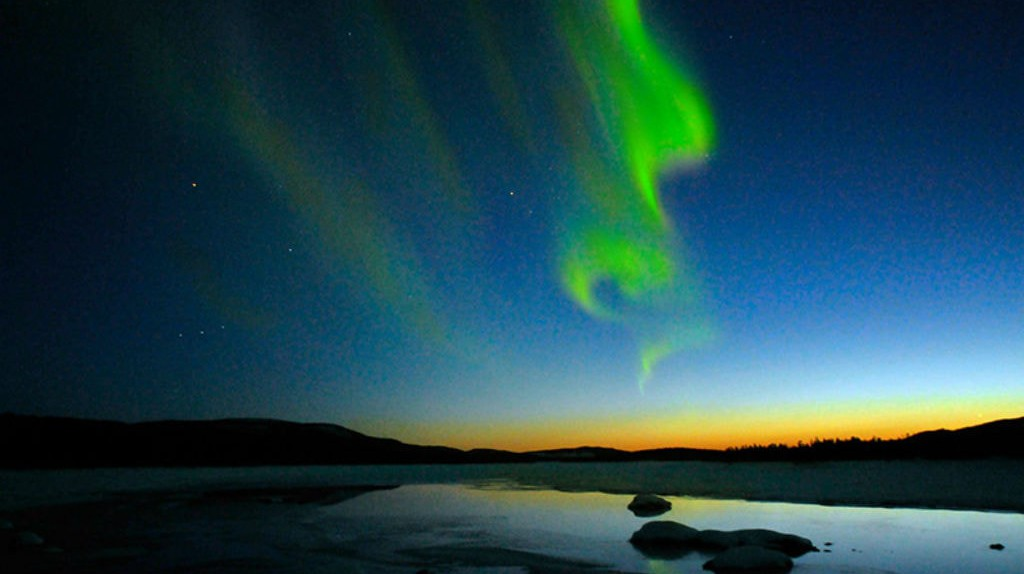 The Northern Lights   © Jerry MagnuM Porsbjer/WikiCommons