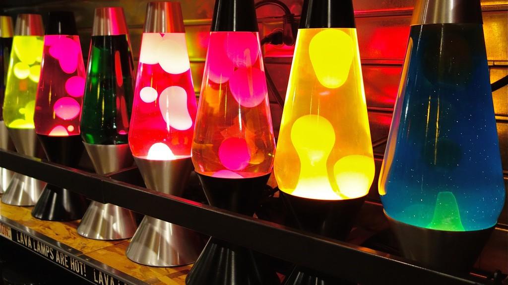 Lava Lamps   © Dean Hochman / Flickr