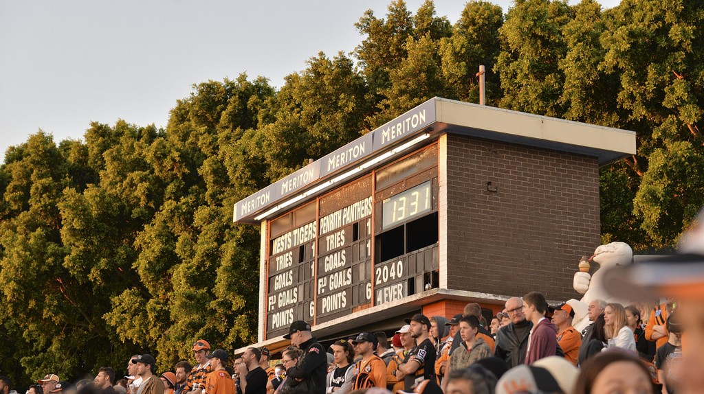 Leichhardt Oval scoreboard | © Scott Brown/Flickr