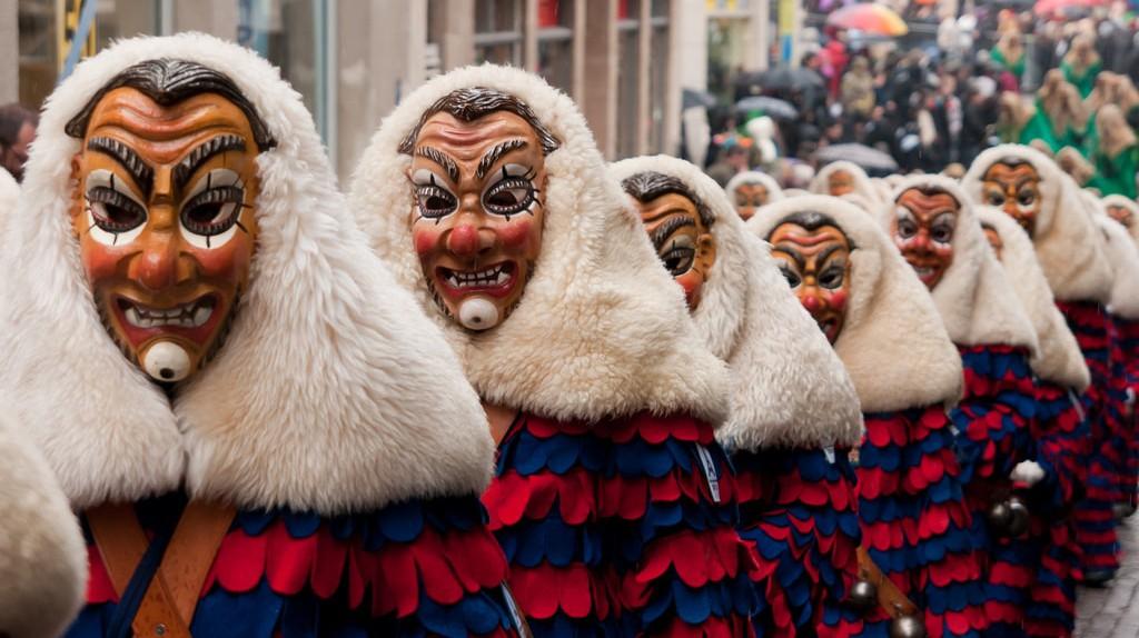 The Schwabian-Alemannic Fastnacht (Carnival) in Tübingen, Germany | ©  LenDog64 / Flickr