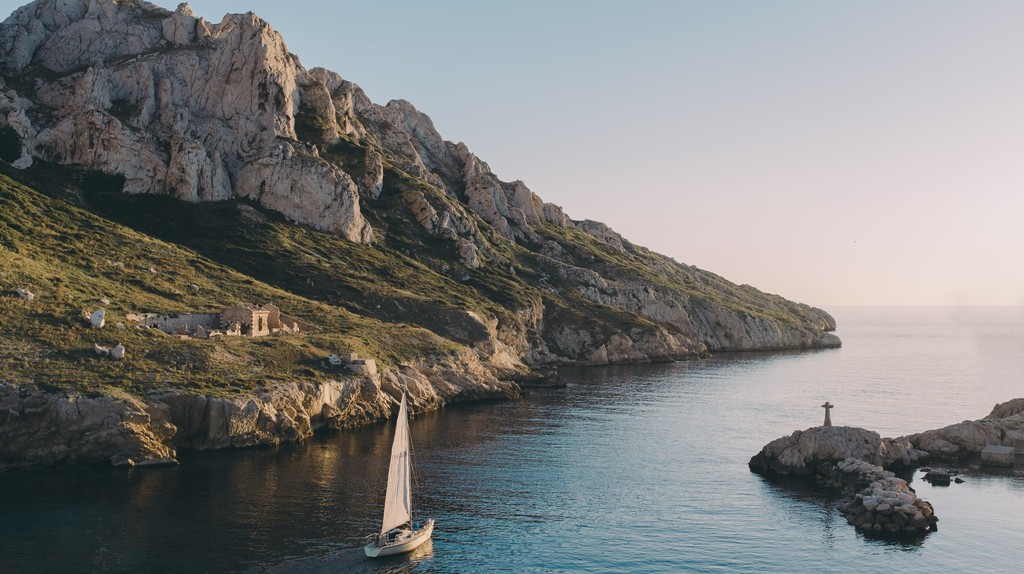 Marseille is right on the Calanques, the French national park