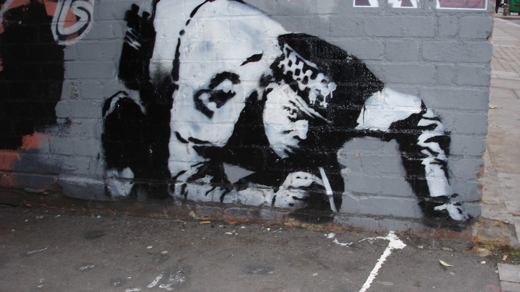 Original Cocaine Copper | Image © Kevin Singleton, Courtesy Global Street Art