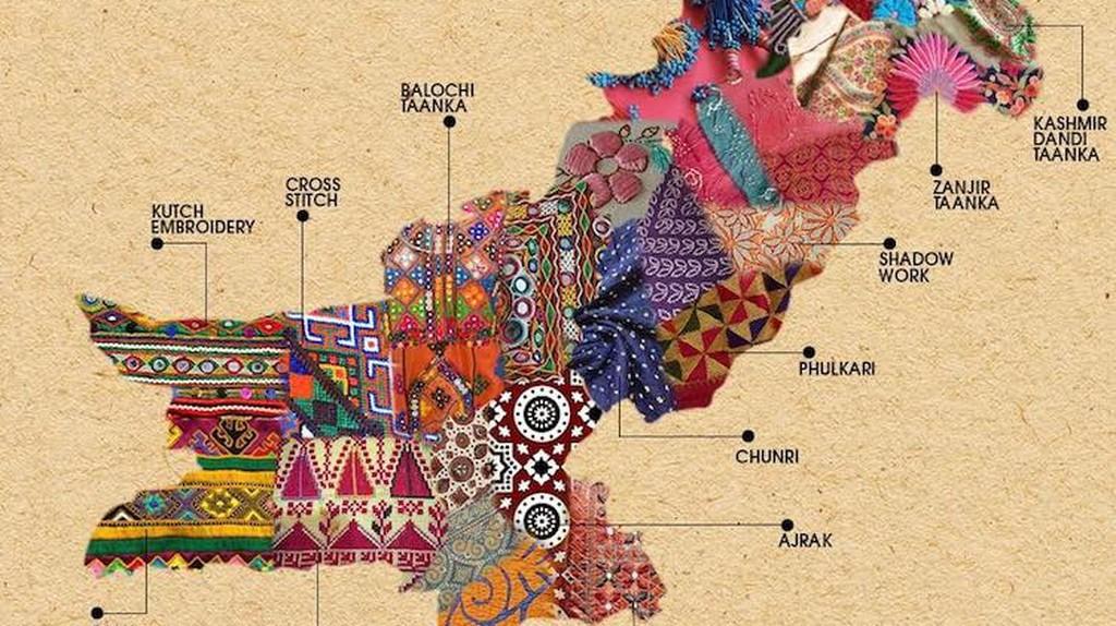 Textile Map of Pakistan   © Generation / Facebook