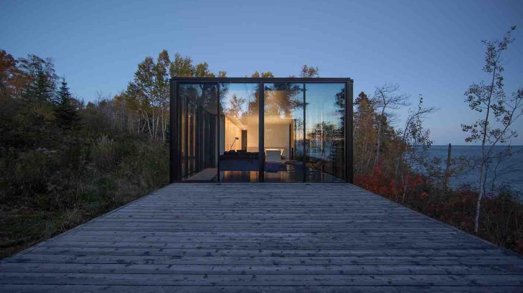 Sawtooth Cabin | Courtesy of PlansMatter