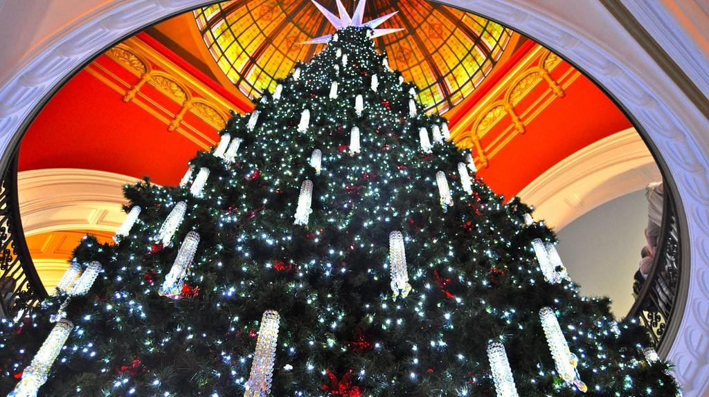 QVB Swarovski Christmas Tree | © Sarah Ackerman/Flickr