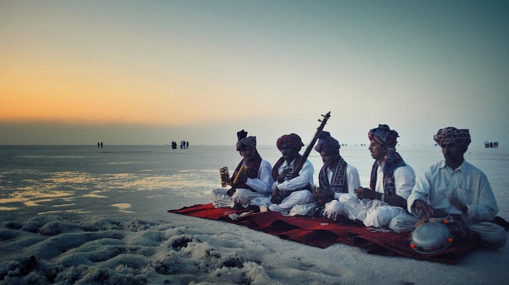 Rann Utsav is one of the world's biggest salt desert festival