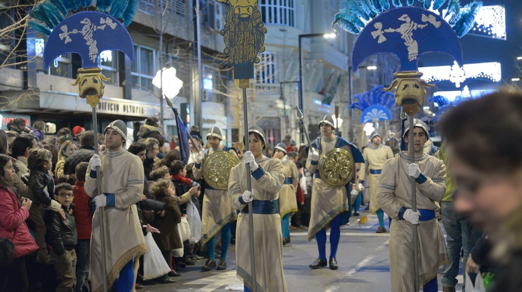A Kings' Day parade in Granada, Spain; StockphotoVideo/Shutterstock