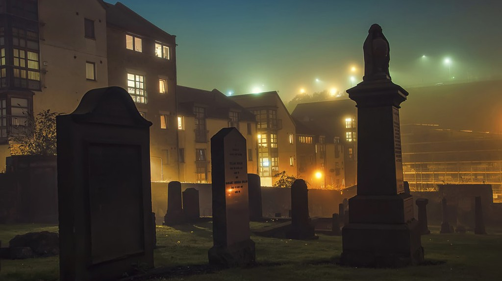 Old Carlton Burial Ground in Edinburgh