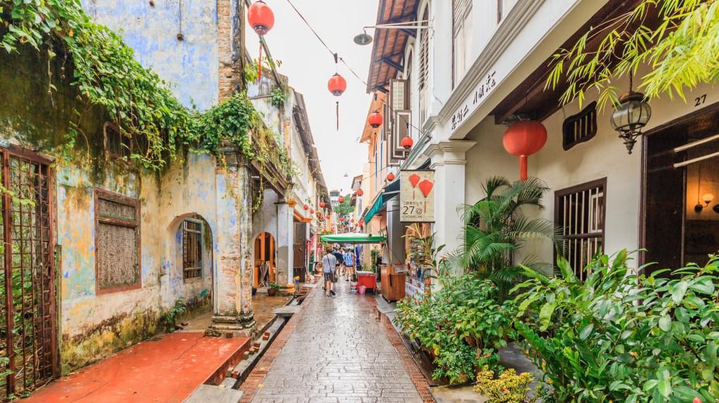 Concubine Lane, Ipoh, Perak