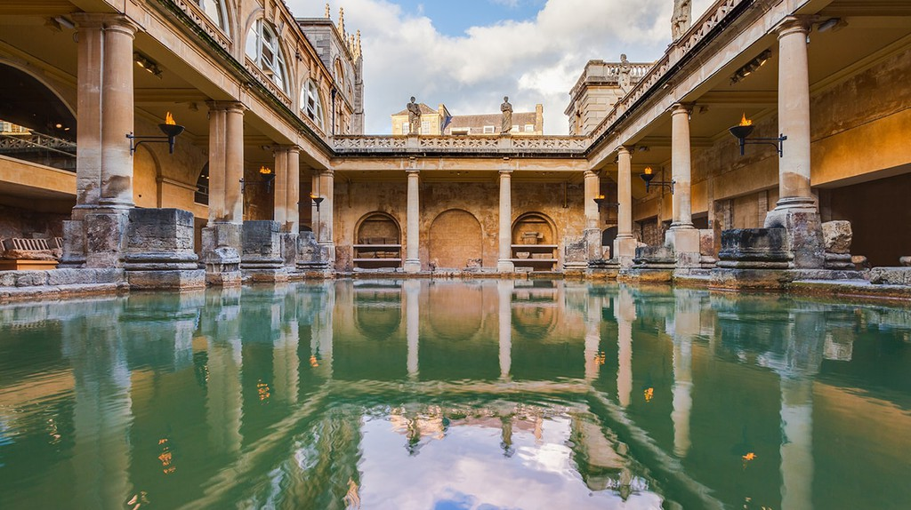 The Roman Baths, Bath | © Diego Delso/WikiCommons