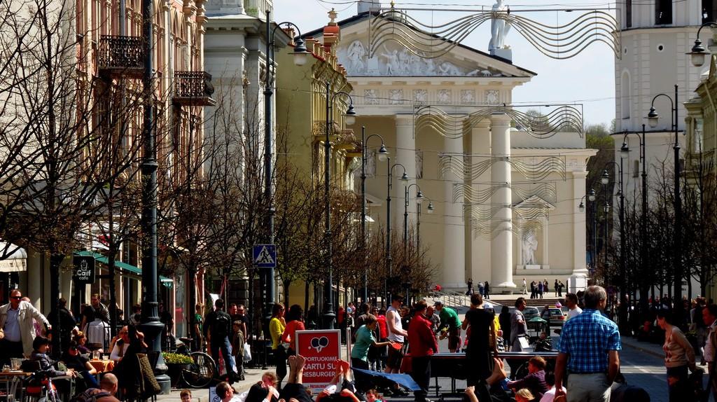 Vilnius street   © xorge/Flickr