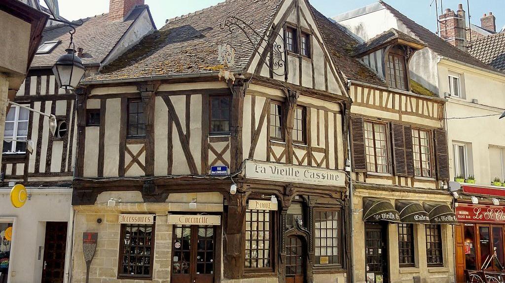 Compiègne, maison La Vieille Cassine  © Wikimedia Commons