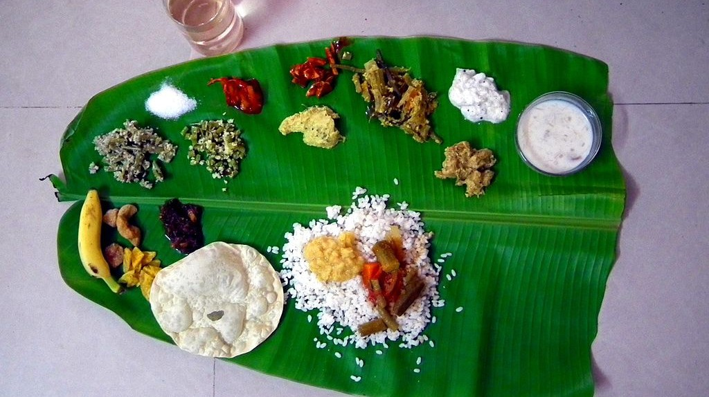 A traditional Onam Sadhya can have up to 26 items per meal |