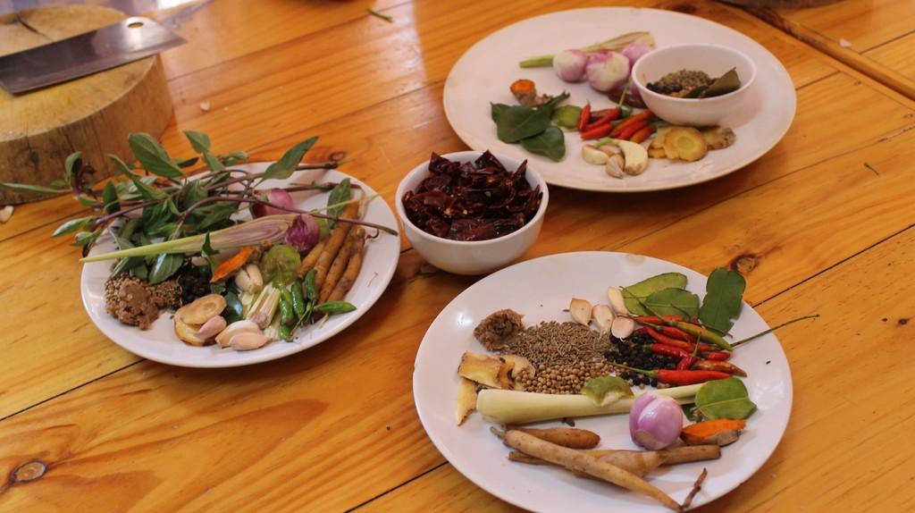 Different Thai curry ingredients   © Connie/Flickr