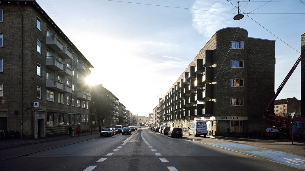 Frederiksborgvej, Nordvest  